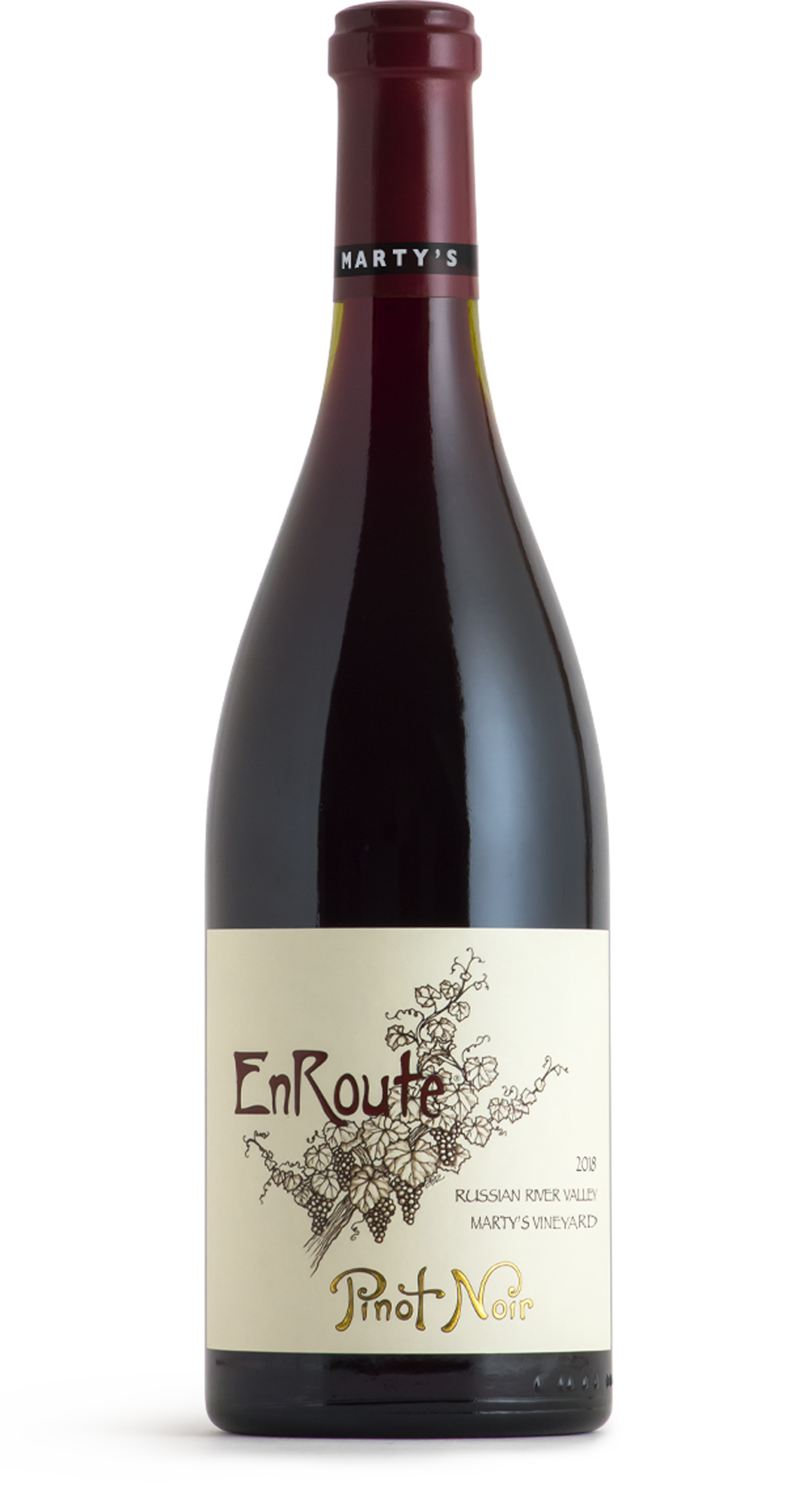 2018 EnRoute Marty's Vineyard Pinot Noir